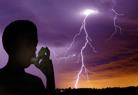 Kết quả hình ảnh cho thunderstorm asthma